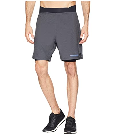 2XU Run 2-in-1 Compression 7 Shorts (Charcoal/Nero) Men