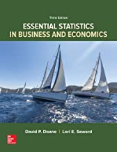 Loose-Leaf Version for Essential Statistics in Business and Economics