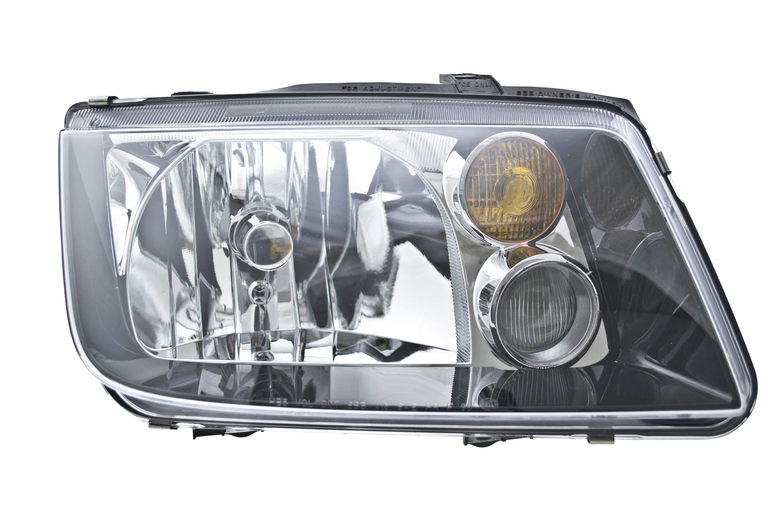 1 Pack Driver Side, VW Passat HELLA 008350051 Headlamp Assembly