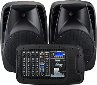 Laney AUDIOHUB Series AH2500D - Portable PA system - 2x500W - 6 channels Bluetooth and FX - 2 mics included