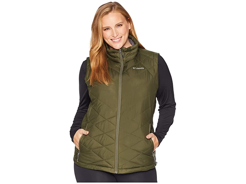 Columbia Plus Size Heavenly Vest (Nori) Women