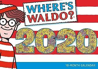 2020 Wall Calendar - Where's Waldo 16-Month