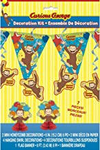 curious george party backdrop