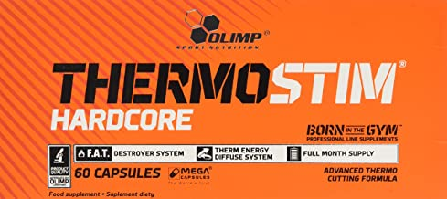 Olimp Labs Thermo Stim Hardcore Capsules Pack of 60 Capsules Estimated Price : £ 16,65
