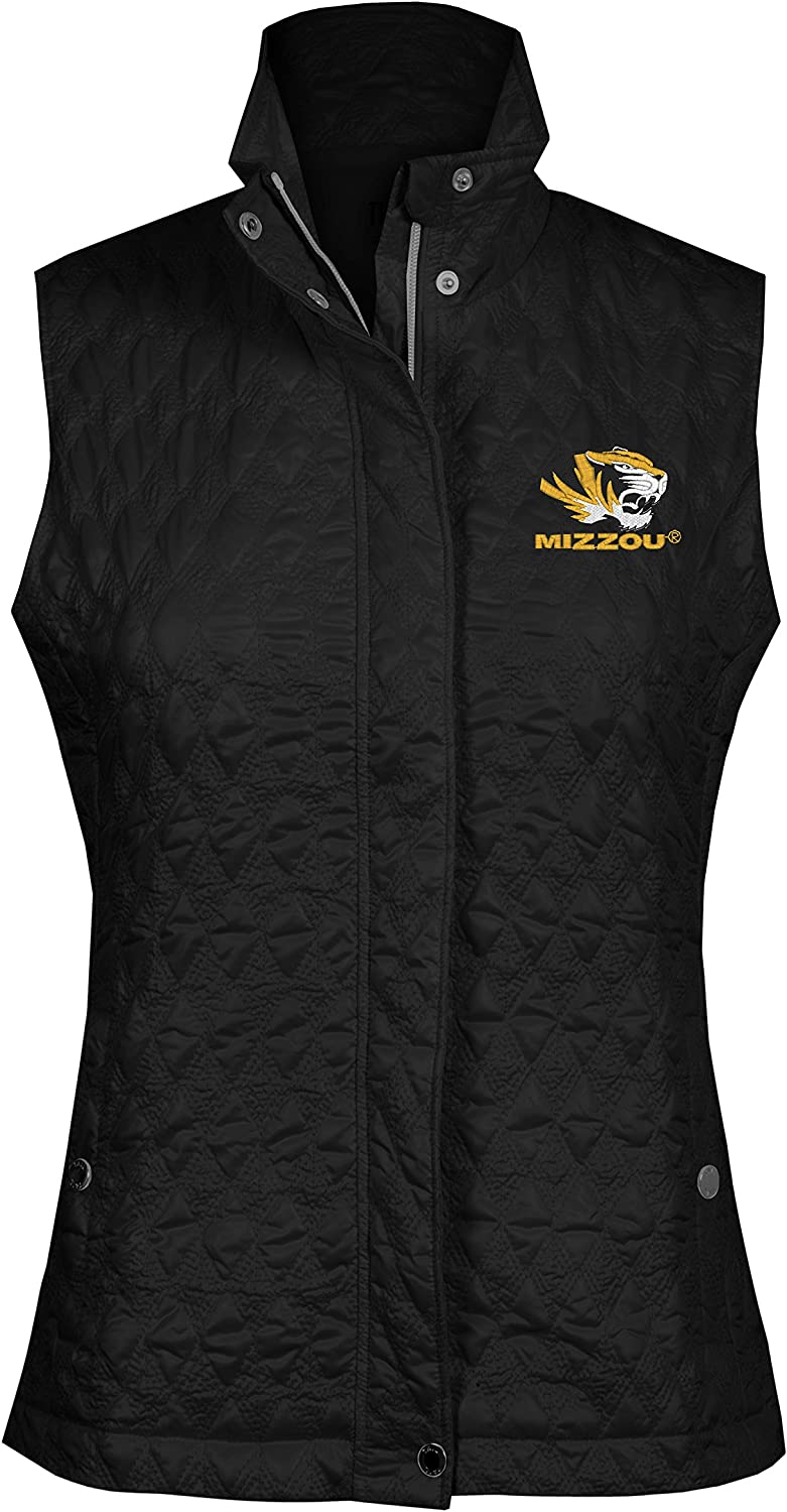 NCAA Women's Detroit Mall Quilted Vest National uniform free shipping