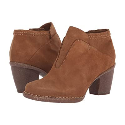 Clarks Carleta York (Tan Suede) Women