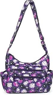Lug Camper 2 Cross Body Bag, Water Purple Cross Body Bag