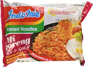 Indomie Mi Goreng Instant Stir Fry Noodles, Halal Certified, Hot & Spicy / Pedas Flavor (Pack of 30) - SET OF 2