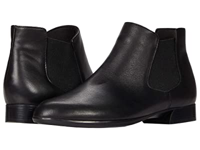 Munro Cate (Black Leather/Rain Gore) Women