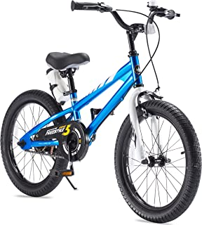 RoyalBaby 2 Hand Brakes BMX Freestyle Kids Bike for Boys and Girls, Unisex Bicycles for Ages 3 to 8, 12