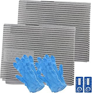 Spares2go Cooker Hood Grease Filter Kit For Turbo Kitchen Extractor Fan Vent