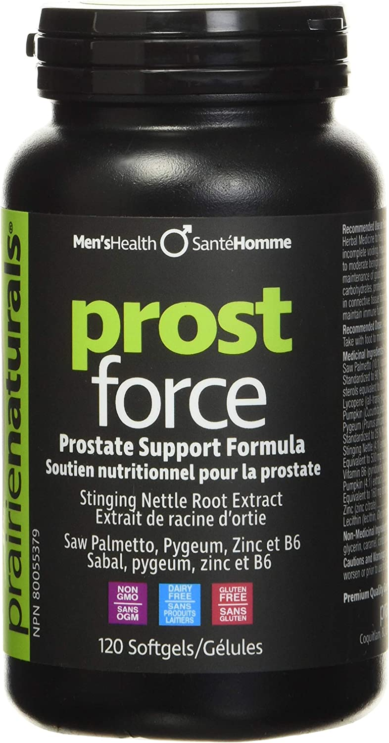 Prairie Naturals Philadelphia Mall Prost Force A surprise price is realized Prostate for Support Softgels Men