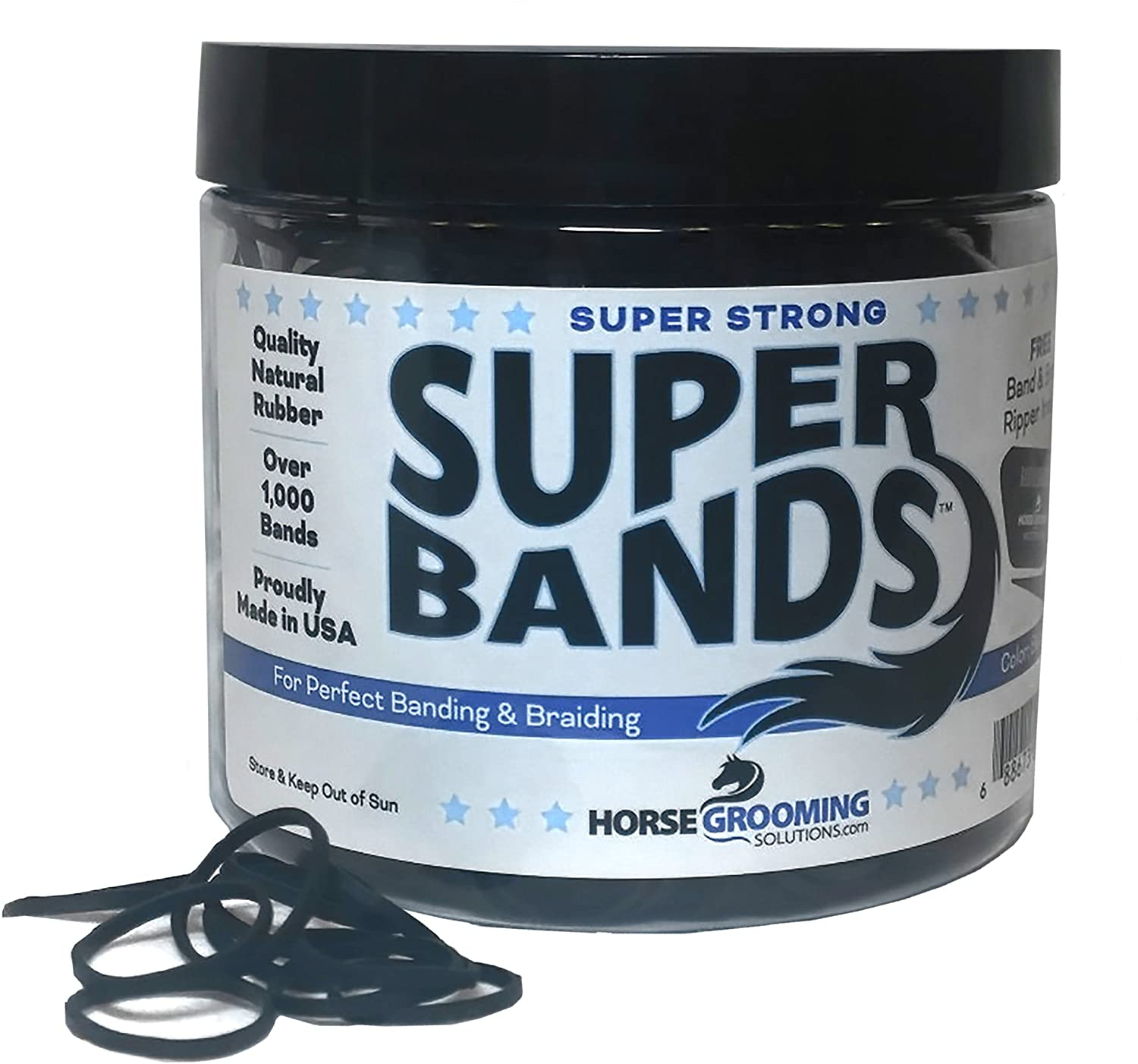 Healthy Haircare Spasm shopping price Product-Super Bands- 1 Black 4