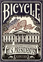 2 Decks Bicycle US Presidents Playing Cards Blue and Red