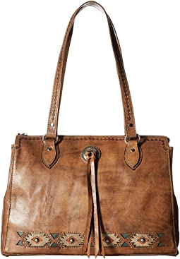 American West - Native Sun Zip Top Tote w/ Secret Compartment