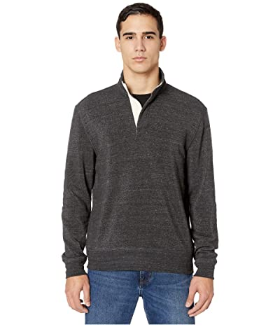 Alternative Eco Fleece Notched Pullover (Eco Black) Men