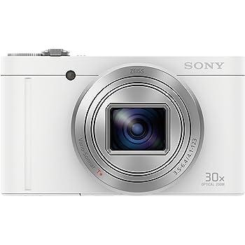 ソニー デジタルカメラ DSC-WX500 光学30倍ズーム 1820万画素 ホワイト Cyber-shot DSC-WX500 WC