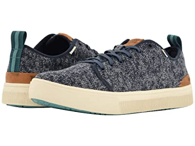 TOMS TRVL LITE Low (Navy Melange Knit) Men