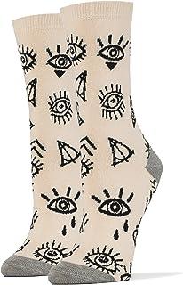 Women`s Casual Dress Socks, Sock It Up Cool Socks, Colorful Stylist Socks, Office Crew Socks