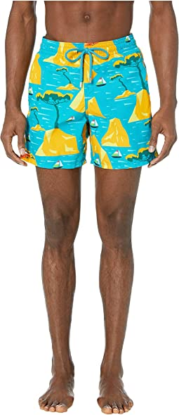 Capri Moorea Swim Trunks