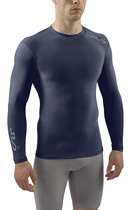 Mens Thermal Long Vest Full Sleeve Top Extreme Warm Winter Heat Ski Wear Size S-XXL Large, Black