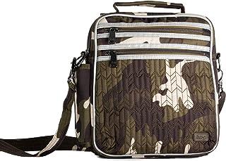 Lug Women's Boxcar Crossbody Bag, Brushed Camo Black Cross Body,