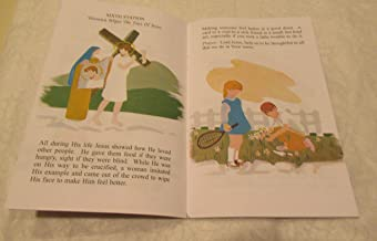 Holy Week Gift or Easter Service Handout The Way of the Cross Book for Children