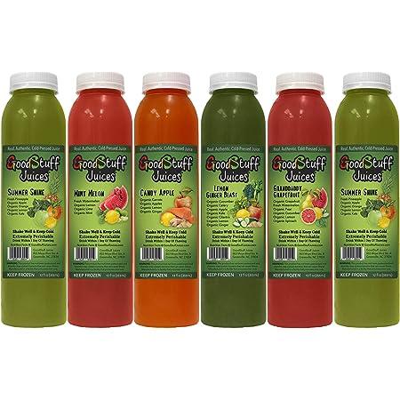 5 Day Summer Slim Juice Cleanse by Good Stuff Juices - Cold-Pressed - Premium Taste - 30 Juices - 12oz