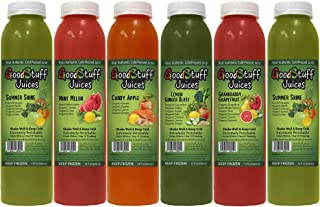 3 Day Organic Juice Cleanse by GoodStuff Juices - Summer Slim Kit - Detox Your Body, Lose Fat, and Feel Great - Cold-Pressed - Premium Taste - 18 Juices