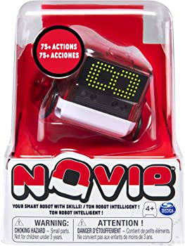 Novie Interactive Smart Robot with Over 75 Actions and Learns 12 Tricks
