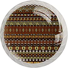 AITAI Vintage Bohemen Patroon Ronde Kast Knop 4 Pack Trekt Handvatten