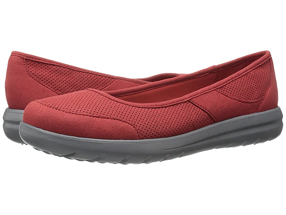129244e87b8  69.95 More Details · Clarks Jocolin Myla (Red Perfed Microfiber) Women s  Sandals