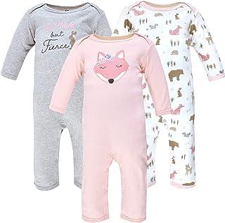 Hudson Baby Kombinezon dziecięcy Uniseks - niemowlęta Hudson Baby Unisex Baby Cotton Coveralls, Girl Fox
