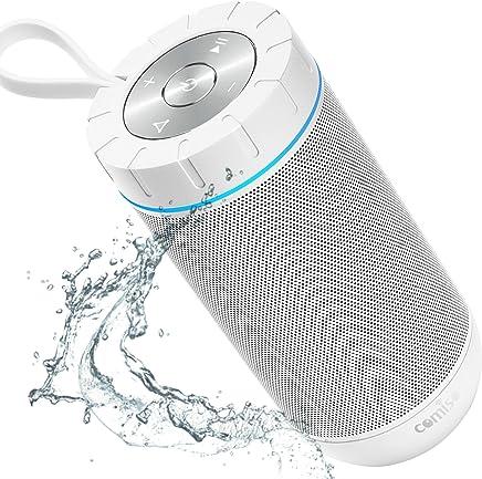 COMISO Bluetooth Speaker Portable Waterproof Outdoor...
