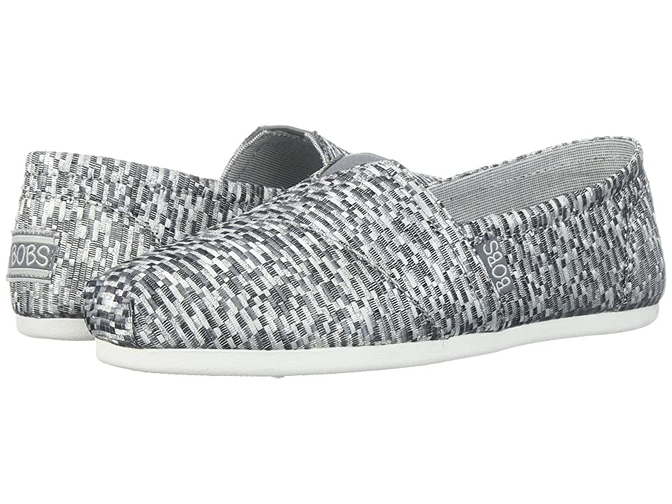 BOBS from SKECHERS Bobs Plush Jacquardy Party (Gray) Women