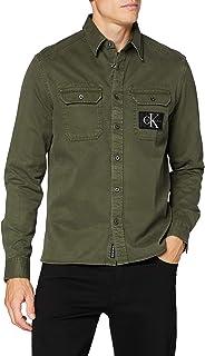 Calvin Klein Jeans Men's GMD Twill Overshirt Reg + Shirt