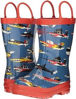 Monster Boats Rain Boots (Toddler/Little Kid)