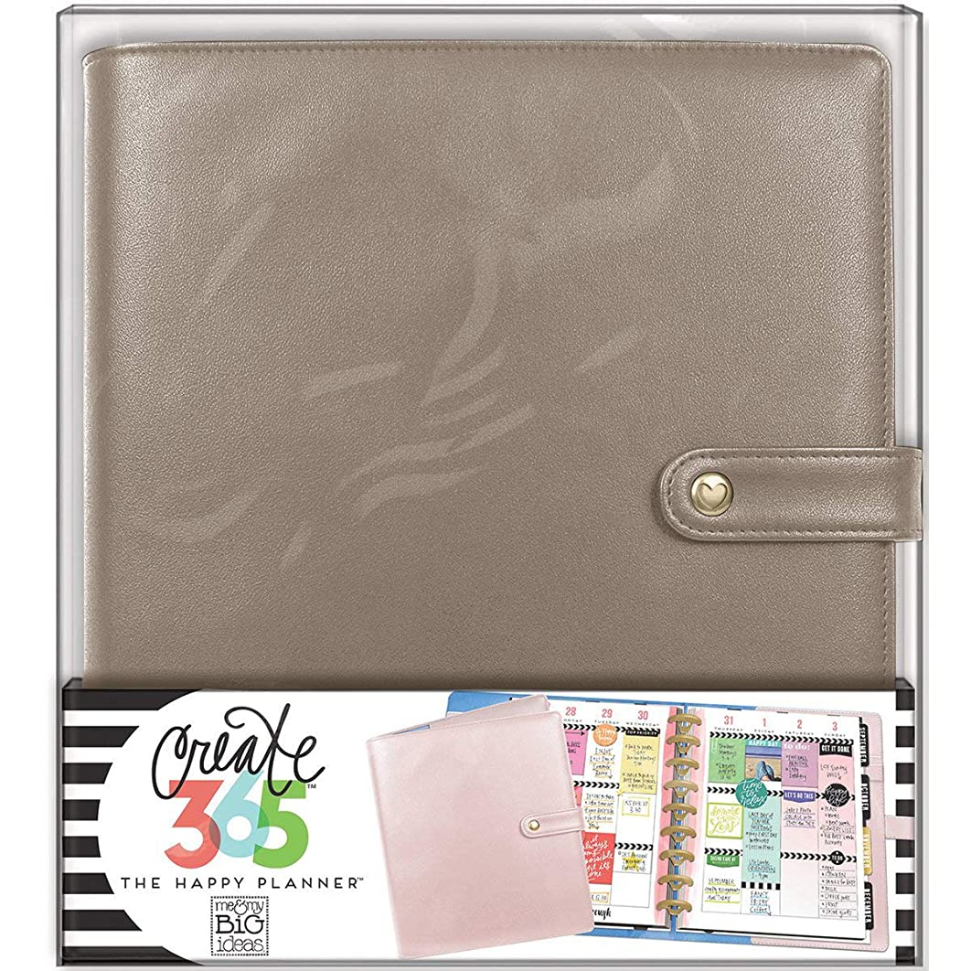 me & my BIG ideas  CODC-05 Create 365 The Happy Planner Classic Deluxe Cover, Rose Gold