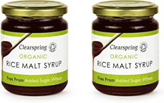 (2 Pack) - Clearspring - Organic Rice Malt Syrup | 330g | 2 PACK BUNDLE