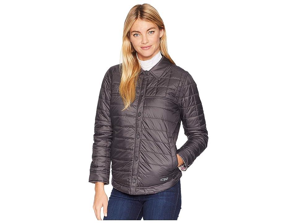 Outdoor Research Kalaloch Reversible Shirt Jacket (Pacific Plum Plaid) Women