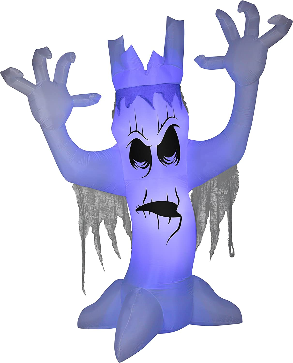 Gemmy 12' Giant New Shipping Popular brand in the world Free Airblown Scary Tree Halloween Inflatable
