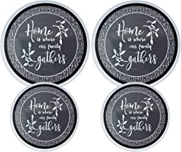Set of 4 Electric Stove Burner Covers (Home 1)