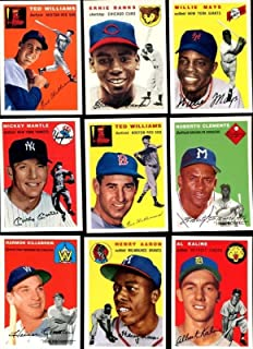 1954 Topps Archives Complete 259 Card Set with Mantle and Ted Williams Cards