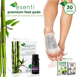 Best kinoki cleansing detox foot patches Reviews