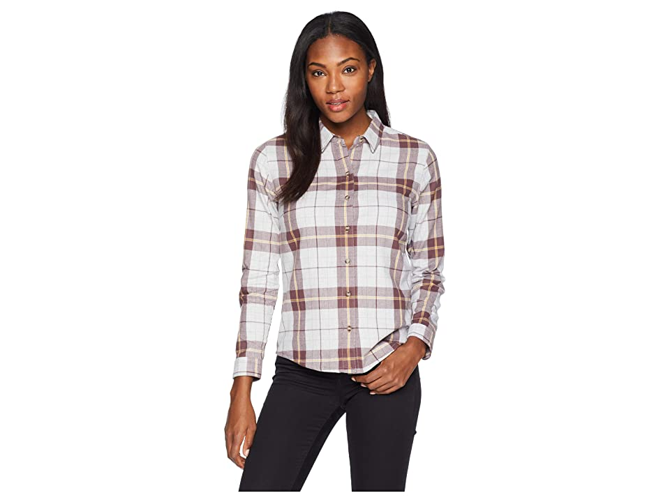 Toad&Co Lightfoot Long Sleeve Shirt (Heather Grey) Women