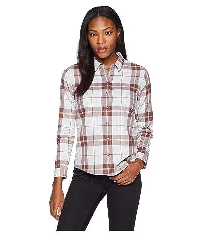 Toad&Co Lightfoot Long Sleeve Shirt (Heather Grey) Women