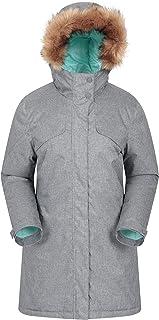 Id/éale en Hiver Mountain Warehouse Veste 3 en 1 Fell pour Femmes Manteau imperm/éable Poches zipp/ées Capuche Ajustable et Pliable