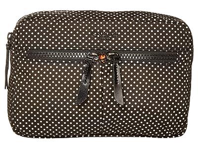 KNOMO London Dalston Palermo Convertible Crossbody (Black Reflective) Cross Body Handbags