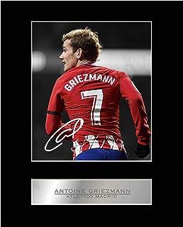 Antoine Griezmann firmado foto enmarcada atlético de madrid