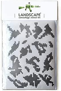LANDSCAPE CAMO Russian Berezka camouflage stencils set
